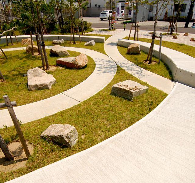 1moku Co Modern Garden Design Urban Landshaft Otkrytye Prostranstva