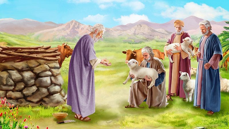 Image result for JOb's friends Bible stories, Historical