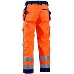 Photo of Calças unisex de alta visibilidade Blakläder® 1568 tamanho laranja 44