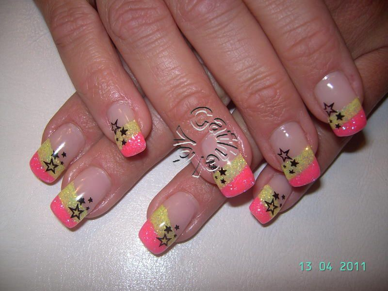 nails pink - Google Search