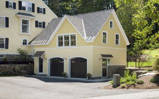 Carriage House - traditional - garage and shed - boston - by Jacob Lilley Architects
