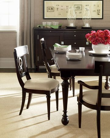 Martha Stewart East Hampton Dining Room Hamptons Dining Table