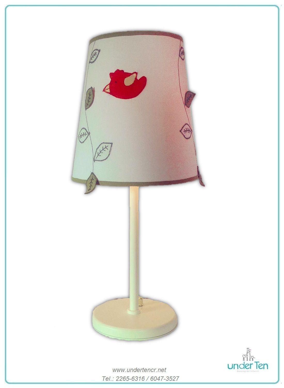 Jungle Table Lamp Handmade By Under Ten Www Undertencr Net Lamparas De Mesa Lamparas Disenos De Unas