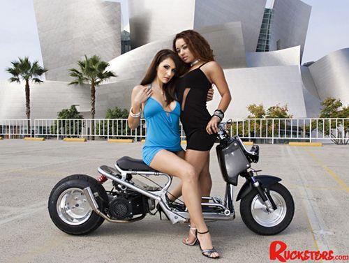 Ruckus Custom Honda Ruckus Honda Ruckus Scooter Girl