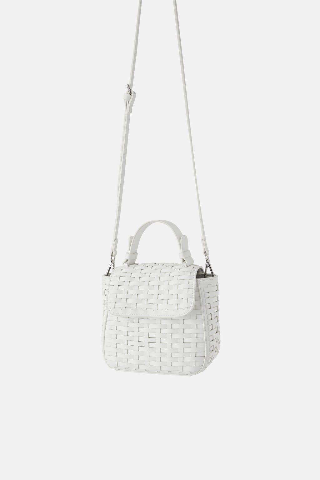 63126253b60 Woven mini city bag in 2019 | Summer Fashion Inspirations | City bag ...