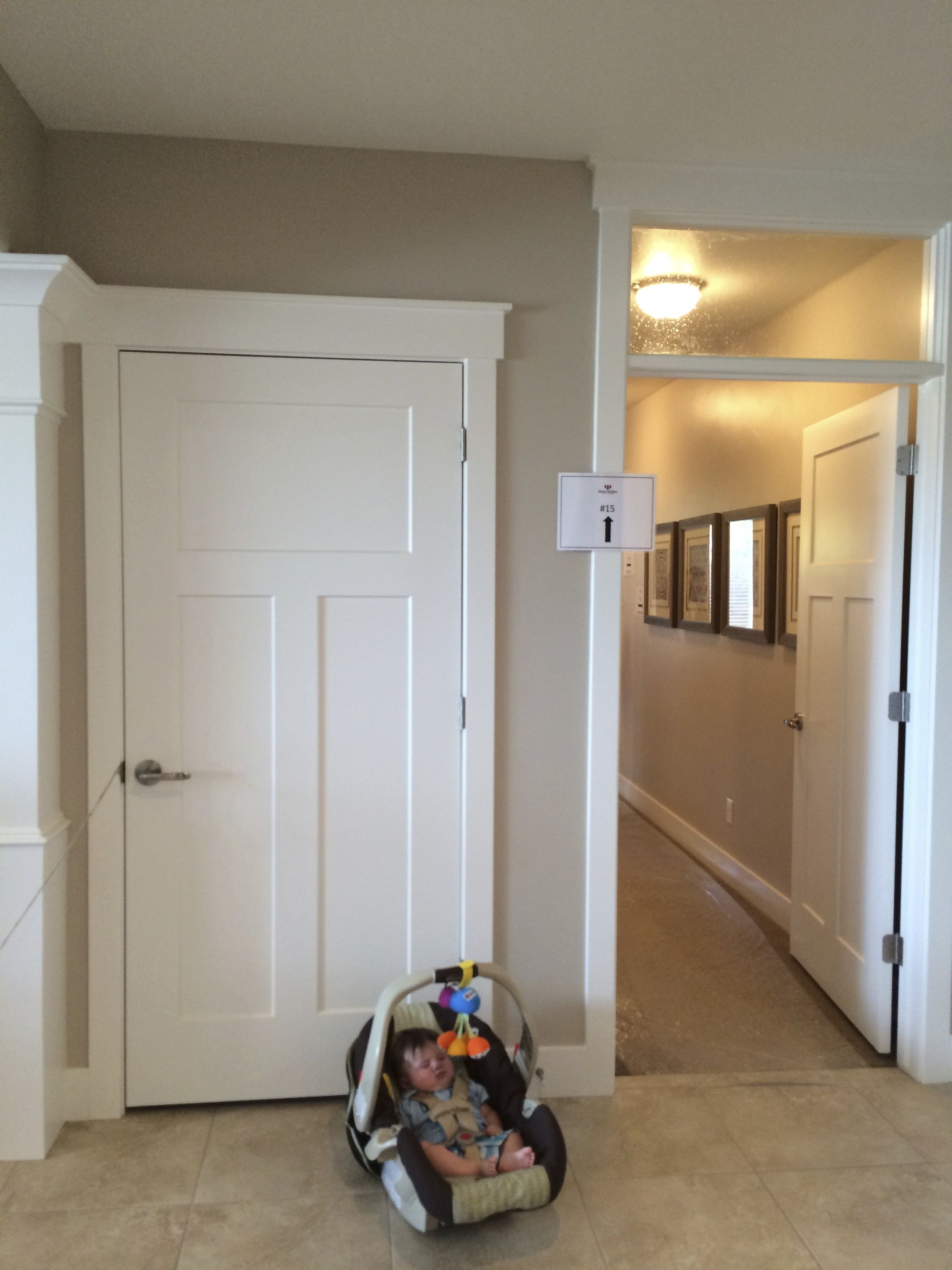 Like The Idea Of A Door To Close Off Hallway To Bedrooms In