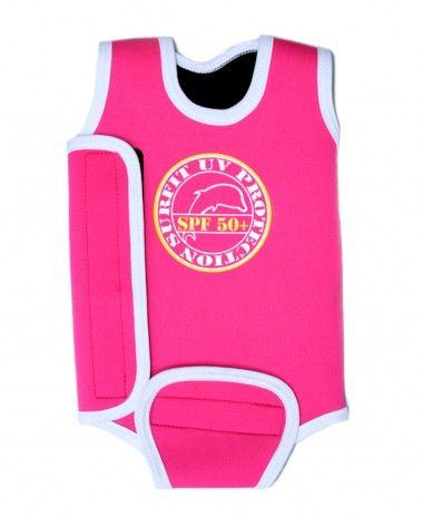 Jakabel 'Surfit' Baby Wrap Wetsuit - Pink