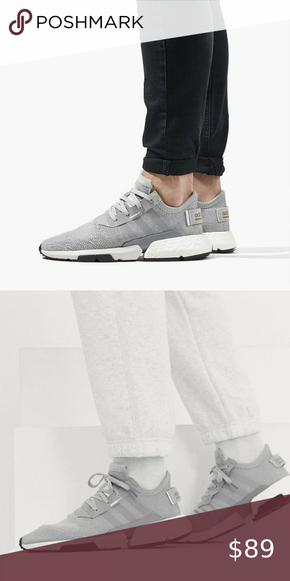NEW Adidas POD-S3.1 Gray White CG6121