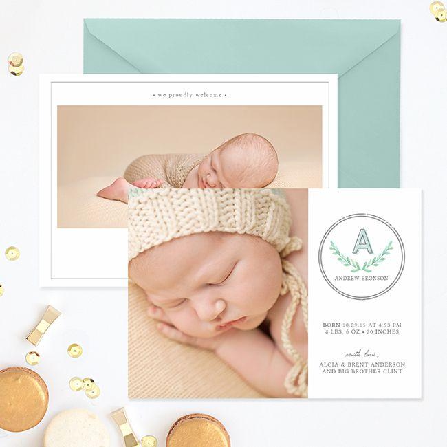 Birth Announcement Template #boy #birth #announcement #template - boy birth announcement template
