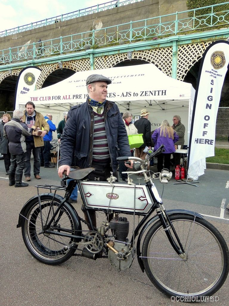 Occhio Lungo Old Motorcycles Vintage Motorcycles Motorcyle