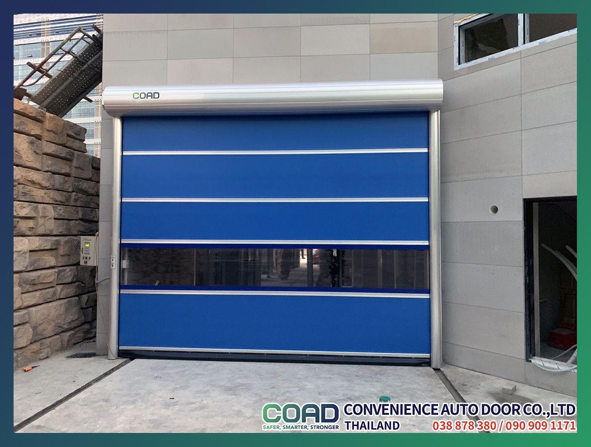 The Door For Waterproof Dustproofing High Speed Door Coad Thailand Doors Automatic Door Interior And Exterior