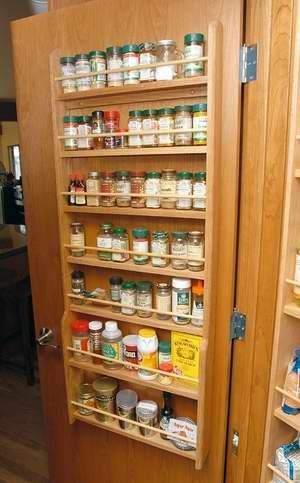 7 Shelf Door Mounted Spice Rack Decoraci 243 N Hogar