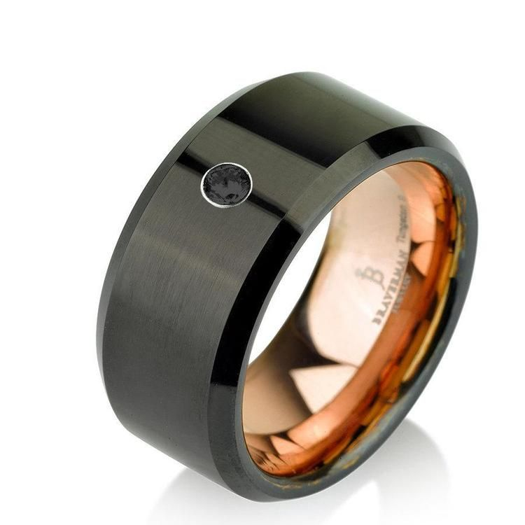 Black diamond Rings are opaque diamonds with a black color.: Black ...