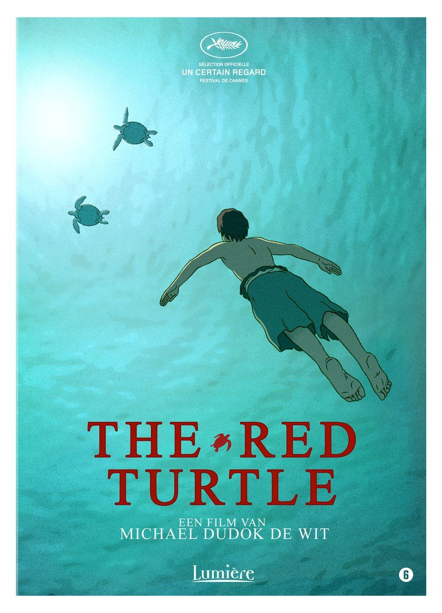 Image result for the red turtle movie poster