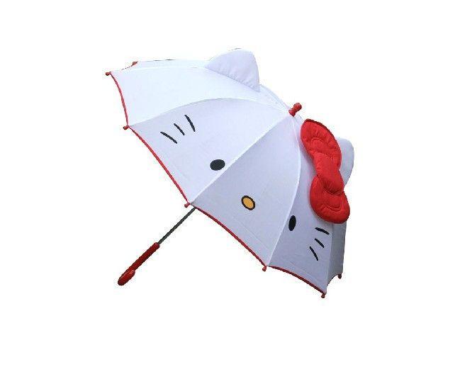 US $19.55 |Free Shipping NEW HOT lovely Cartoon Hello Kitty children anime umbrella for kids girl cute umbrella baby white umbrella|umbrella for kids|anime umbrella|white umbrella - AliExpress