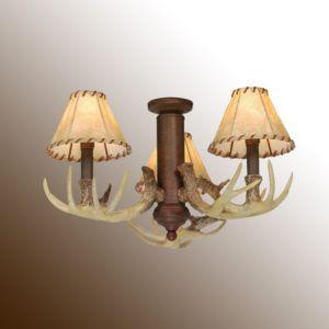 Deer antler ceiling fan light kit httpautocorrect deer antler ceiling fan light kit aloadofball Image collections