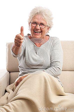 Older women thumbs