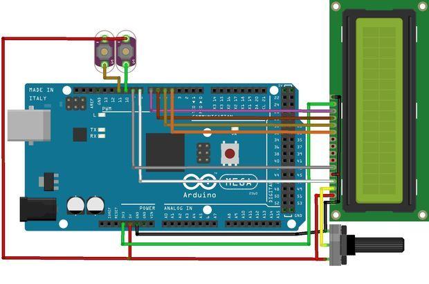 12 hour digital clock using arduino arduino digital. Black Bedroom Furniture Sets. Home Design Ideas