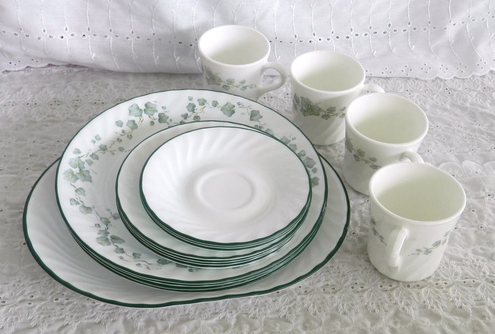 16 Pieces Corelle by Corning Callaway Ivy Dinnerware Plates Bowls Platter Mugs & 16 Pieces Corelle by Corning Callaway Ivy Dinnerware Plates Bowls ...