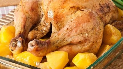 صينية دجاج بالبطاطس بالفرن Recipe Egyptian Food Poultry Recipes Food
