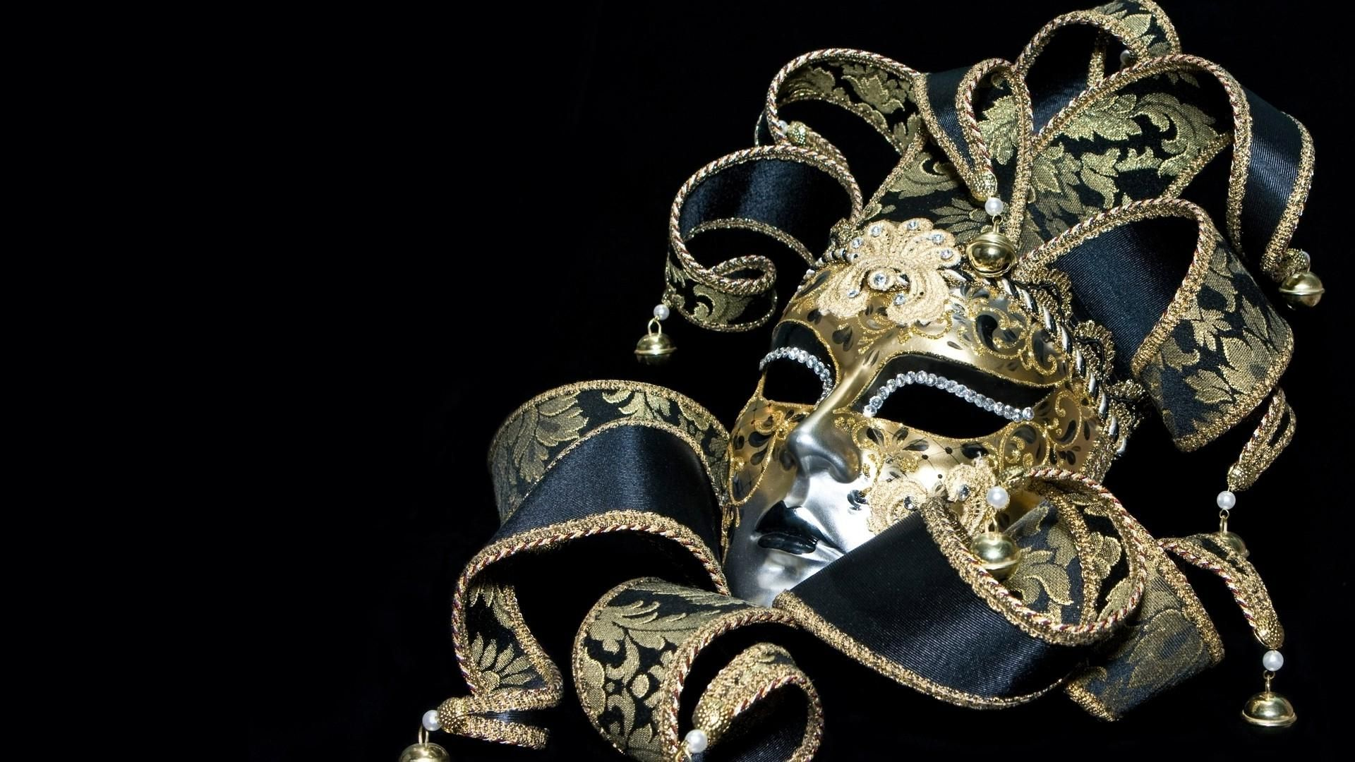 masquerade mask black background wallpaper - photo #4