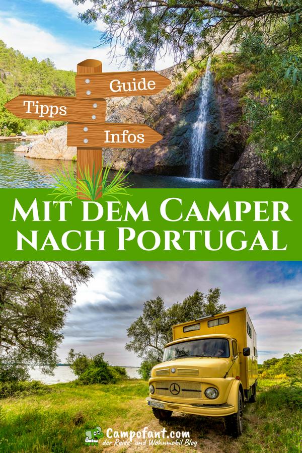 Mit dem Wohnmobil nach Portugal, Camping- und Reisetipps #bestplacesinportugal