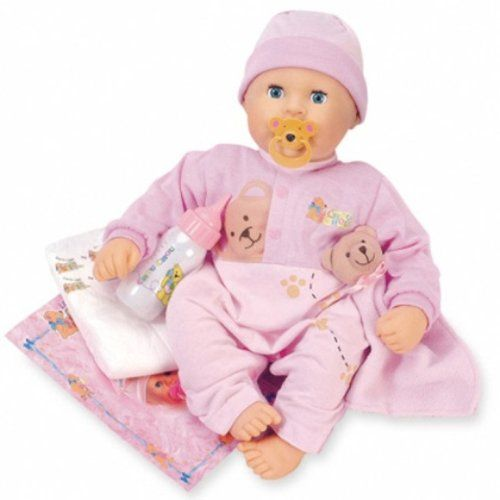 Zapf Creation Love Me Chou Chou Doll 48cm 721476 With