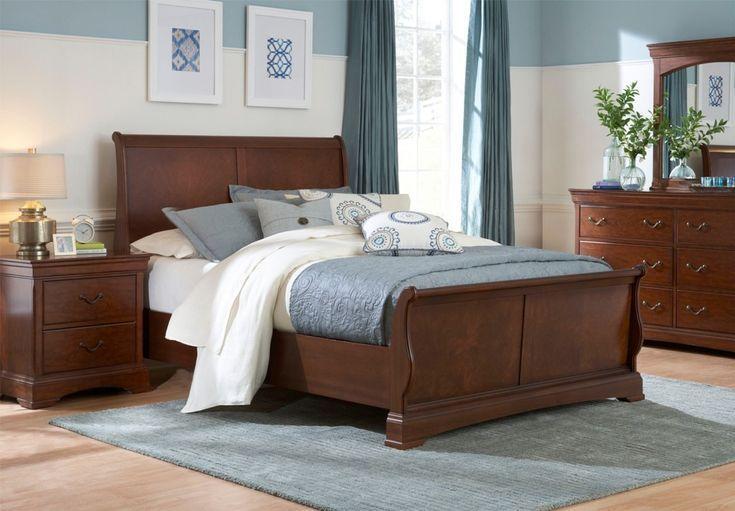 König Sleigh Schlafzimmer Sets Wohnzimmermöbel dekoideen