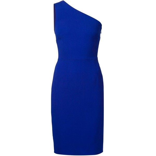 Stella Mccartney Woman One-shoulder Layered Crepe Gown Cobalt Blue Size 50 Stella McCartney Shop For Cheap Online Free Shipping Outlet 100% Authentic K66xzg