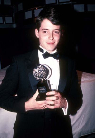 Matthew Broderick in his youth