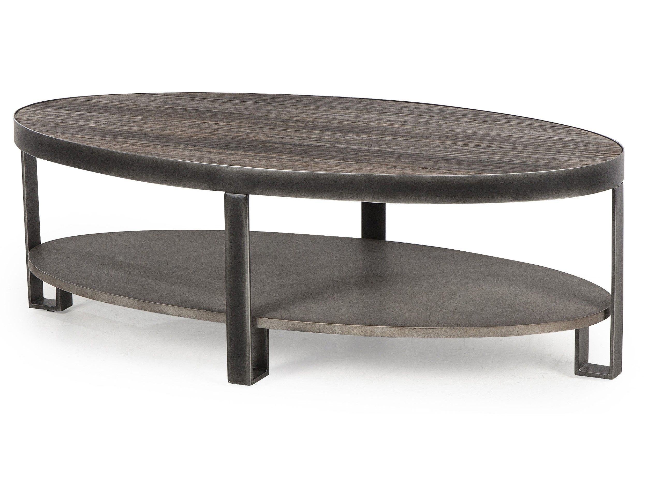 THOMAS COFFEE TABLE CEMENT BLACK CEMENT GRAY