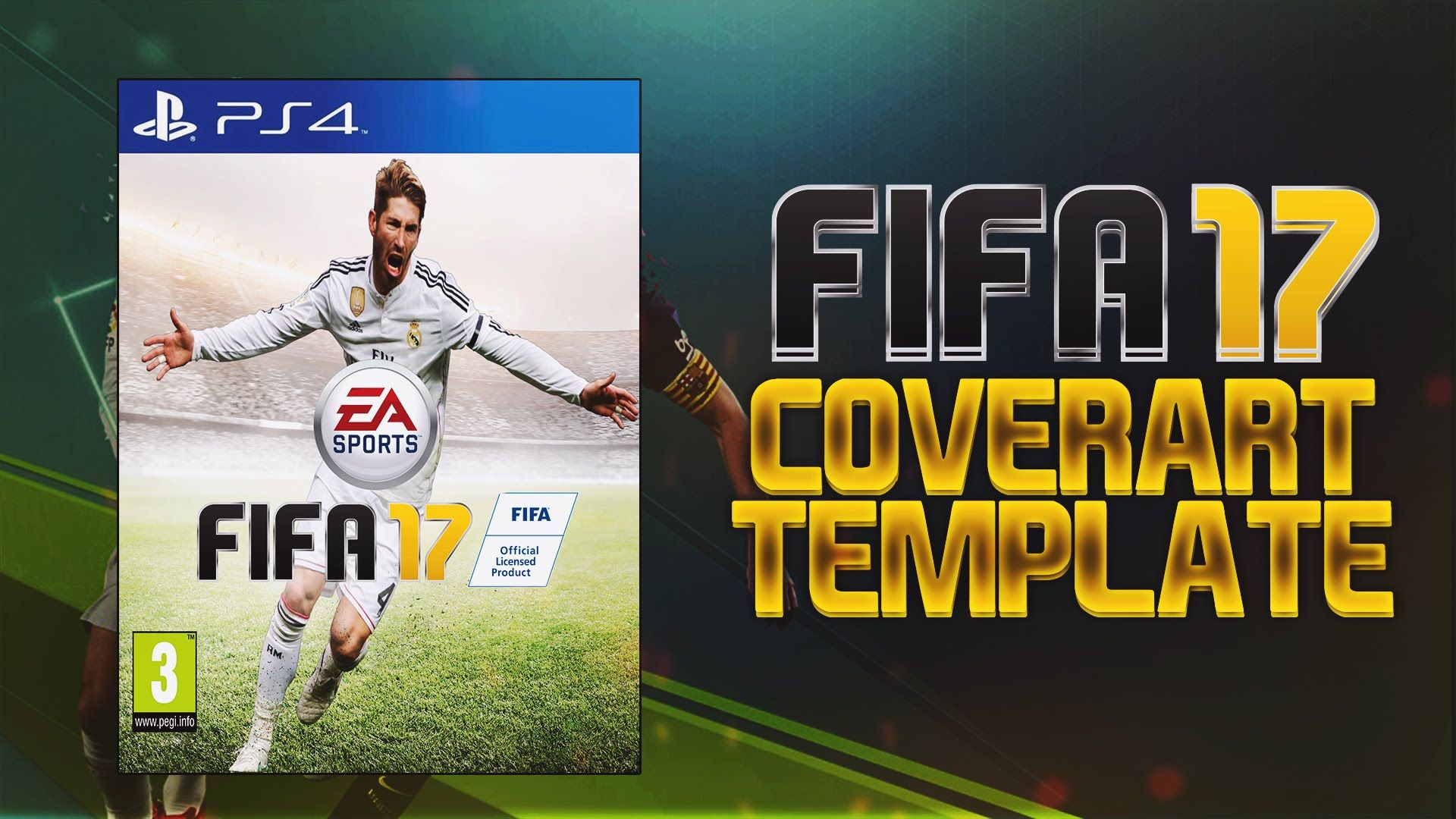 Free Gfx Fifa 17 Cover Art Template Cheap Fifa 17 Coins On Mobilga Com Http Www Mobilga Com Cheap Fifa 17 Coins Html The Largest Mobile Pc Games Selling W