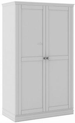 Corndell Annecy Cotton 2 Door Wardrobe Narrow Wardrobe Wardrobe 2 Door Wardrobe