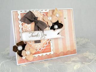 Blomsterbox: Thank you card