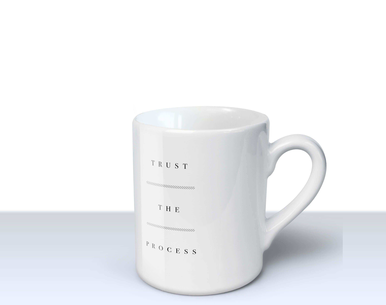 Trust The Process – Mug