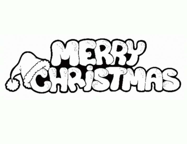 Scritta Natalizia Da Stampare Colorare E Appendere Merry Christmas Coloring Pages Printable Christmas Coloring Pages Christmas Coloring Pages