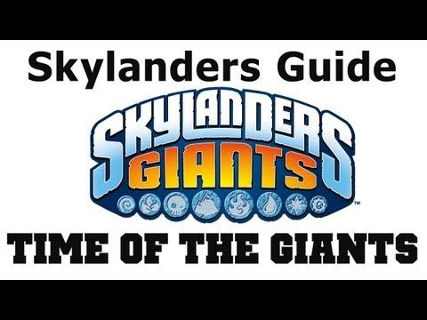 Skylanders Giants Time of the Giants Find All Collectibles - Chapter 1