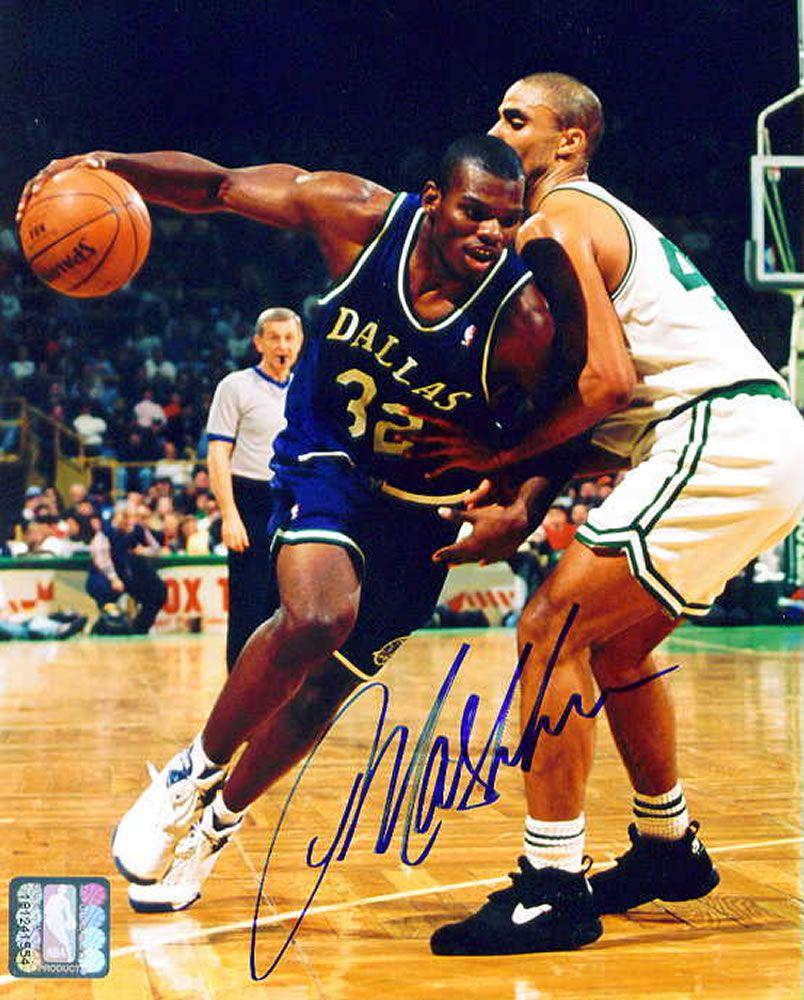 Jamal Mashburn NBA Basketball Pinterest