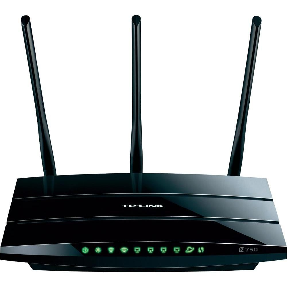 WLAN Router TP-LINK TL-WDR4300 2.4 GHz, 5 GHz 750 MBit/s