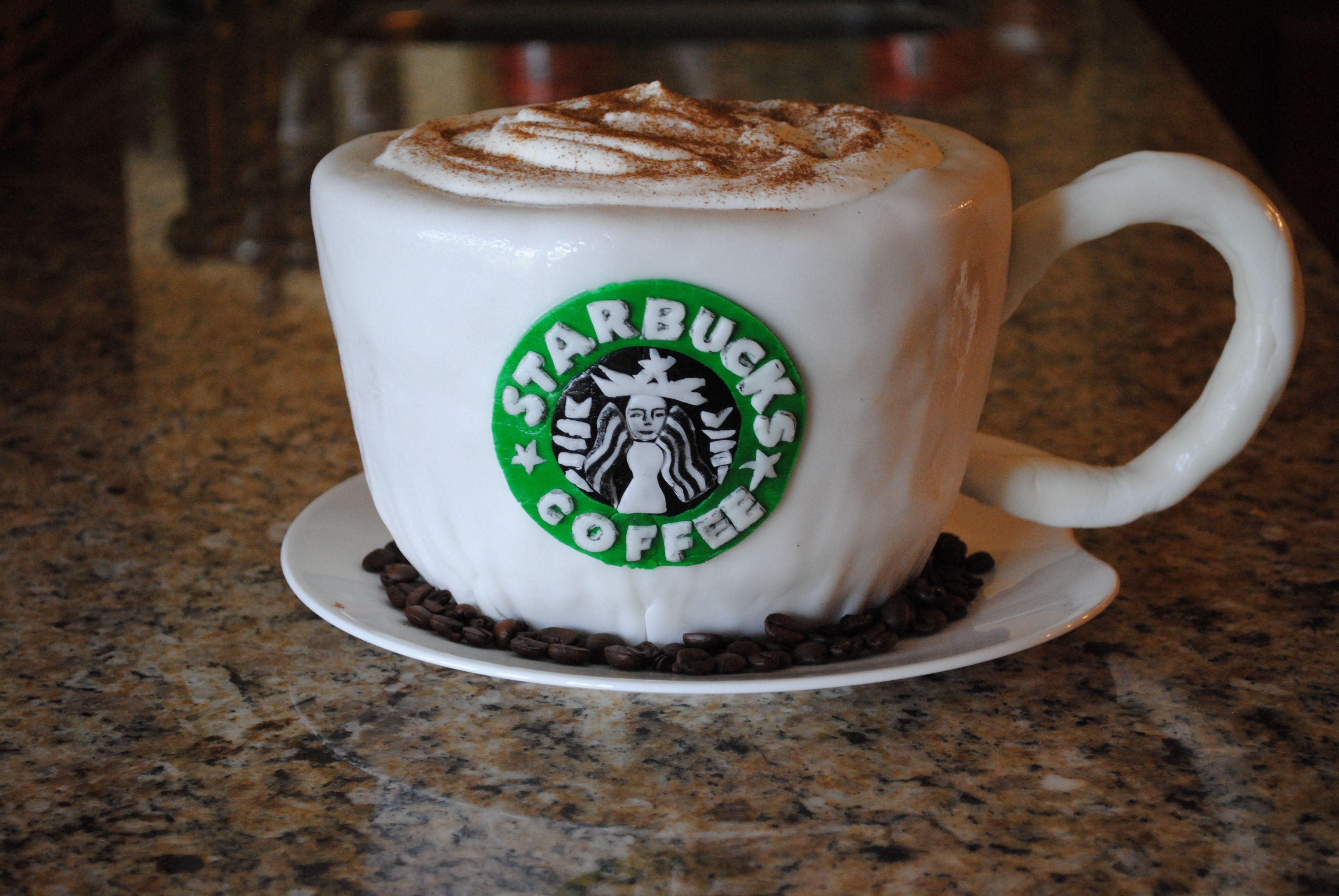 Starbucks Cake #starbuckscake Starbucks Cake #starbuckscake