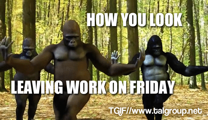 TGIF, everyone! Hope you all walked out of work exactly