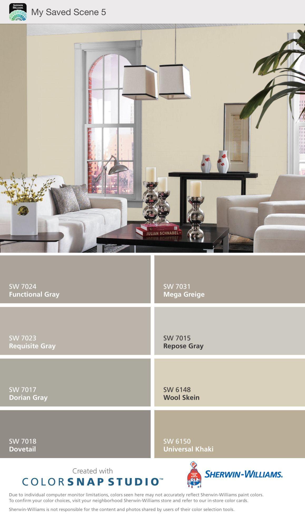 Paint Color For House  Sherwin Williams Mega Greige