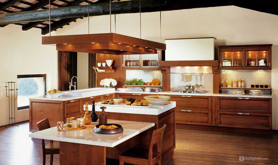 صور مطابخ حديثه و اشكال مطابخ مودرن و مميزه من موبيكان Luxury Kitchen Modern Luxury Kitchen Design Italian Kitchen Decor