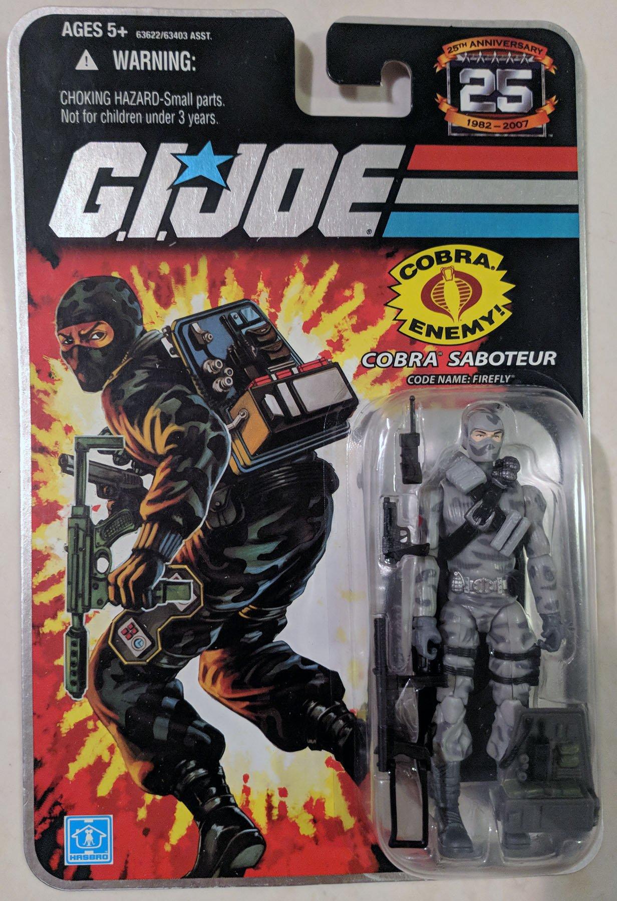 Gi Joe Cobra Saboteur Firefly
