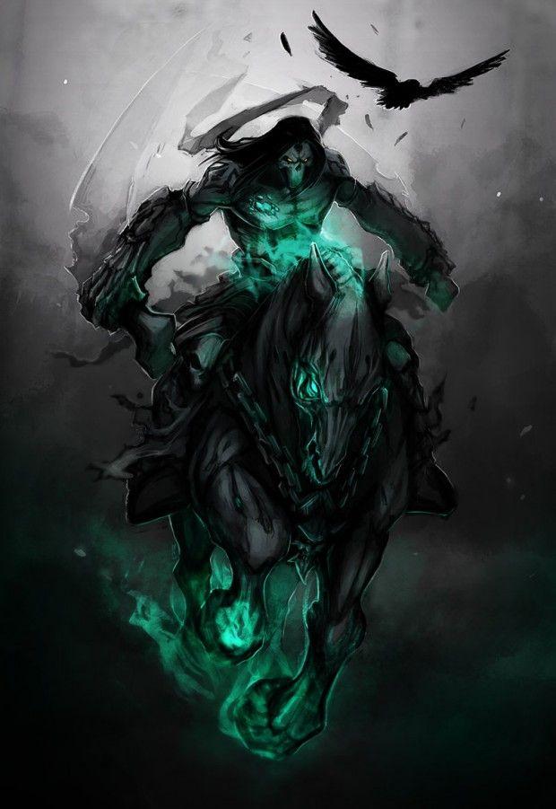 Darksiders Despair Darksiders, Death &amp...