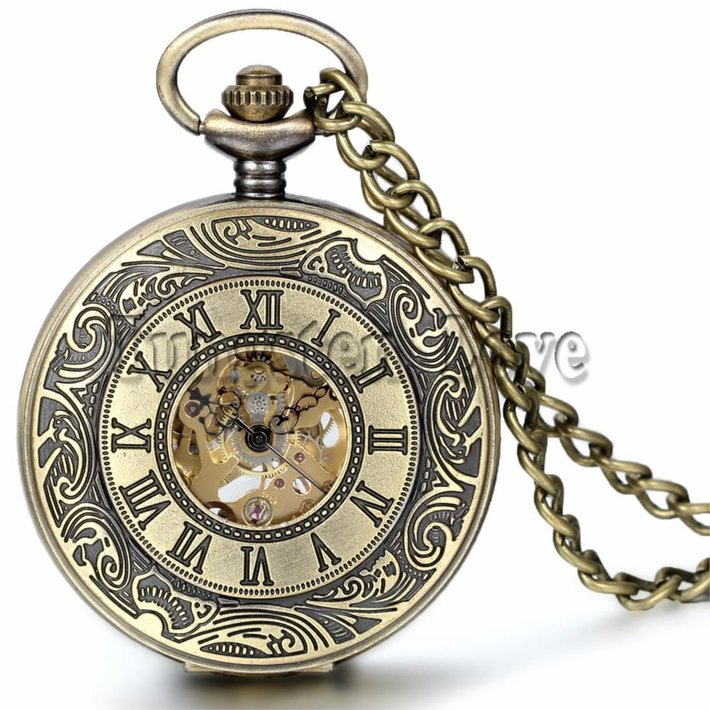 To Daniel From Callista Antique Silver Pocket Watch