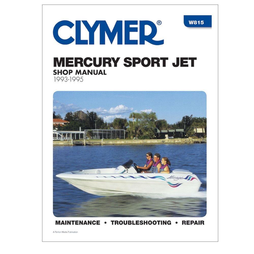Clymer Mercury Sport Jet  1993