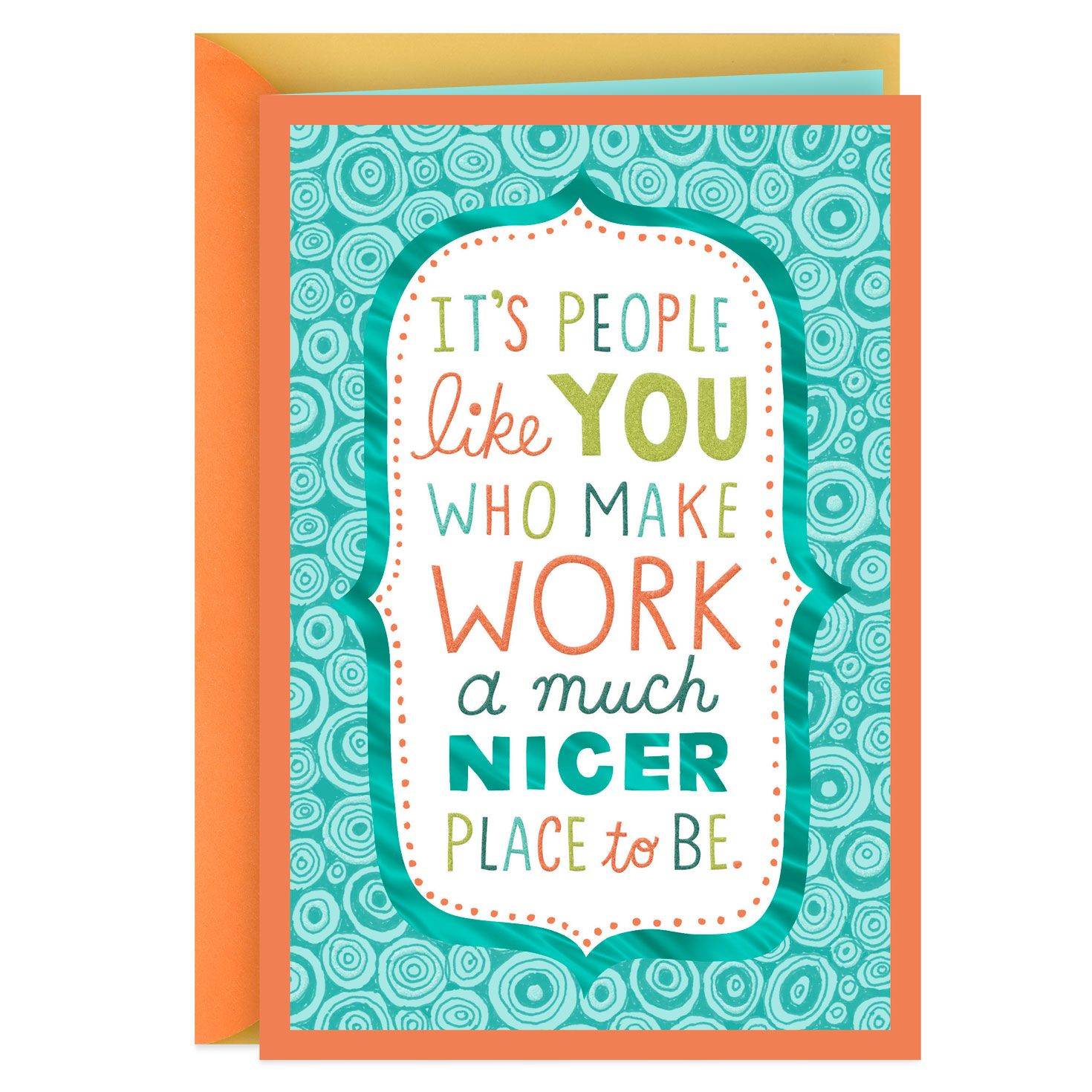 You Make Work A Nicer Place Administrative Professionals Day Card Administrative Professional Day Administrative Professional Admin Professionals Day
