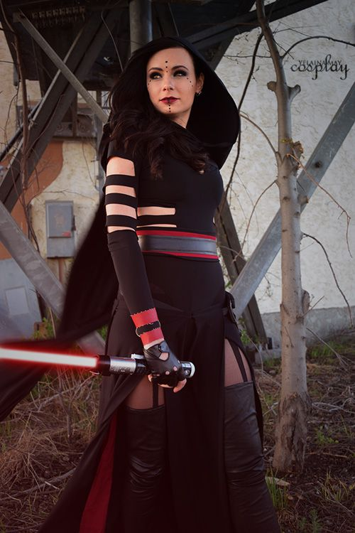 Custom Sith from Star Wars Cosplay #starwarsmakeup