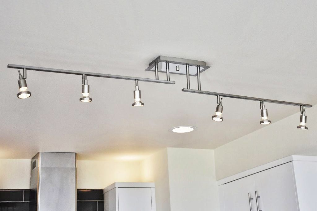 Delightful Kitchen Track Lighting Lowes Elegant Kitchen ...